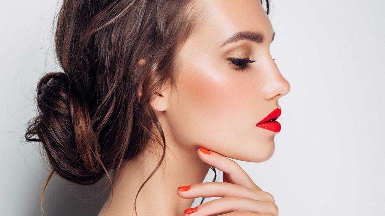 تخفیف آرایشی - آموزش شنیون