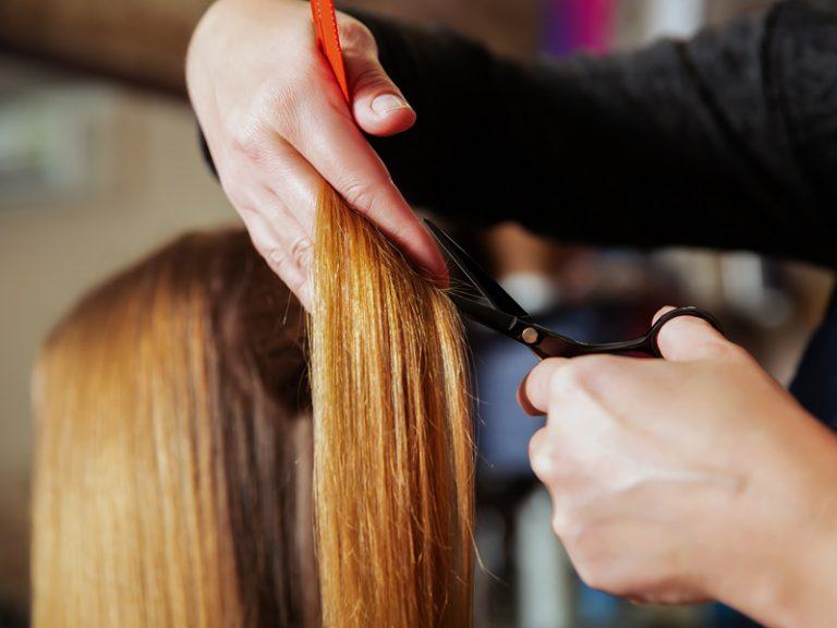 تخفیف آرایشی - کوتاهی مو